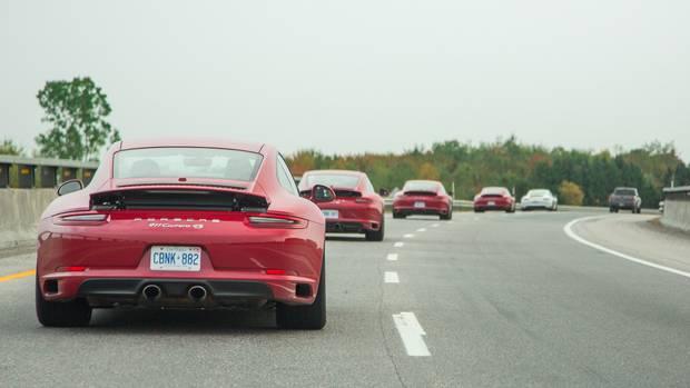 Porsche Tour Canada 150