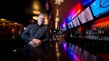 Tim Murphy, general manager of the Shark Club Sports Bar and Grill: 'When there's no hockey going on, there's just no incentive for people to go out and spend.' (DARRYL DYCK for the globe and mail)