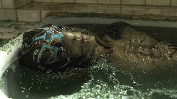 This is what it looked like on screen in the film. SideFX has been nominated for an Academy Award for its work on The Shape of Water.