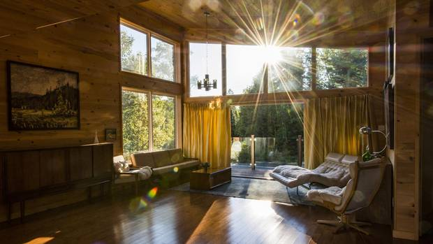 Natural light flows throughout the home.
