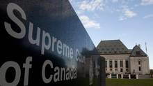 The Supreme Court of Canada in Ottawa (Adrian Wyld/THE CANADIAN PRESS)