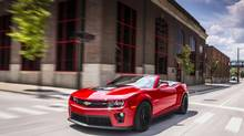 2013 Chevrolet Camaro ZL1 Convertible (General Motors)