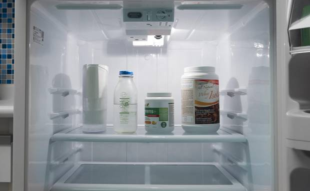 A look inside the fridge of Maryam Siddiqi's fridge - the writer is a self-described 'non-foodie' who finds cooking a chore.