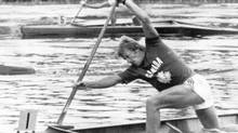 John Wood's win for the men's 500-metre canoe singles event at the Olympic Games in Montreal, was the first medal for Canada in canoeing since 1952. (<137>? Taylor<137><137><252><137>/The Canadian Press)