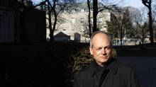 University of Toronto president Meric Gertler photographed while walking around the campus in Toronto, Dec. 4, 2013. (Fernando Morales/The Globe and Mail)