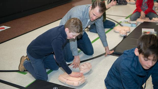 As many as 40,000 cardiac arrests occur in Canada each year, and up to 85 per cent happen in public places outside of hospitals, according to The Heart and Stroke Foundation.