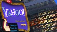 A Yahoo! billboard is seen in New York's Time's Square January 25, 2010. (© Brendan McDermid / Reuters/REUTERS)