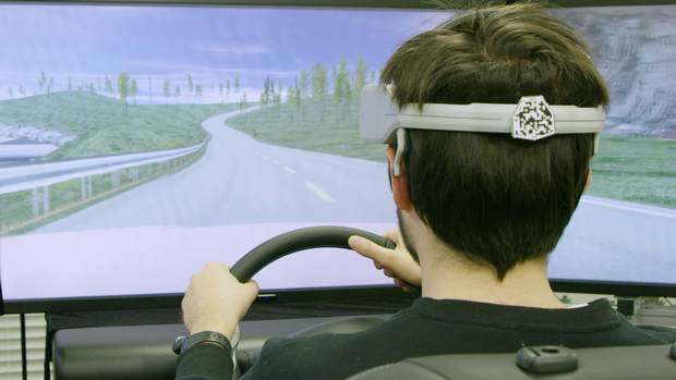 Nissan unveiled research today that will enable vehicles to interpret signals from the driver's brain, redefining how people interact with their cars. The company's Brain-to-Vehicle, or B2V, technology promises to speed up reaction times for drivers and will lead to cars that keep adapting to make driving more enjoyable.