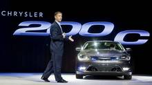 Chrysler President and CEO Al Gardner introduces the 2015 Chrysler 200 at the North American International Auto Show in Detroit, Mich. (Tony Ding/AP Photo)