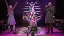 The musical Matilda, based on the Roald Dahl novel. (©2013 Joan Marcus)