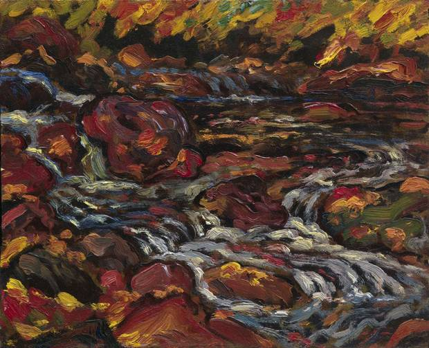 Leaves in the Brook, 1919