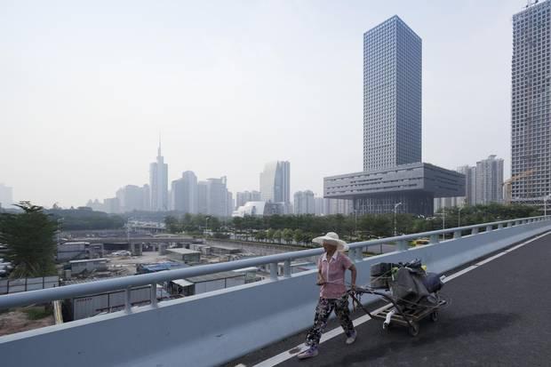 Baan's photo of the Shenzhen Stock Exchange in Shenzhen, China.
