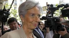 IMF head Christine Lagarde (Jacques Brinon/AP)
