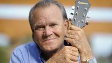 Recording artist Glen Campbell in 2008: Campbell has been diagnosed with Alzheimer's disease. (PHIL McCARTEN/Reuters)