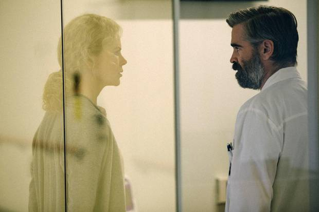 Colin Farrell and Nicole Kidman in The Killing of a Sacred Deer.