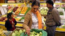A South Asian grocery store in the Toronto area (DEBORAH BAIC/Deborah Baic/The Globe and Mail)