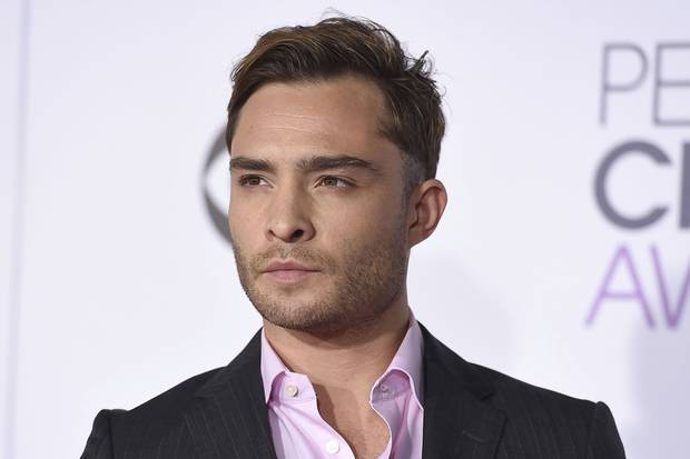 Jan. 6, 2016: Ed Westwick arrives at the People's Choice Awards in Los Angeles.