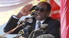 Zimbabwe's President Robert Mugabe addresses supporters in Harare, July, 20 2011. (PHILIMON BULAWAYO/REUTERS/PHILIMON BULAWAYO/REUTERS)