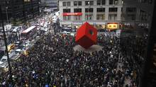 Sept. 17 is the first anniversary of the Occupy movement that took over a slice of downtown Manhattan for two months, spawned like-minded groups around the world, and coined its own slogan to direct attention to inequality: 'We are the 99 per cent.' (MIKE SEGAR/REUTERS)