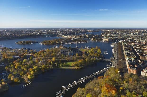 Stockholm, Sweden's capital city, encompasses more than a dozen islands.