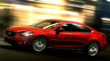 The 2014 Mazda6 shares no common parts with its predecessor. There will be two fresh engine choices: a 185-horsepower, 2.5-litre SkyActiv four-cylinder and, later in the year, a 2.2-litre turbodiesel. (Mazda)