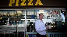 Adrian Dix says he feels 'relaxed' about his work as an NDP staffer in the 1990s. (Darryl Dyck for The Globe and Mail)