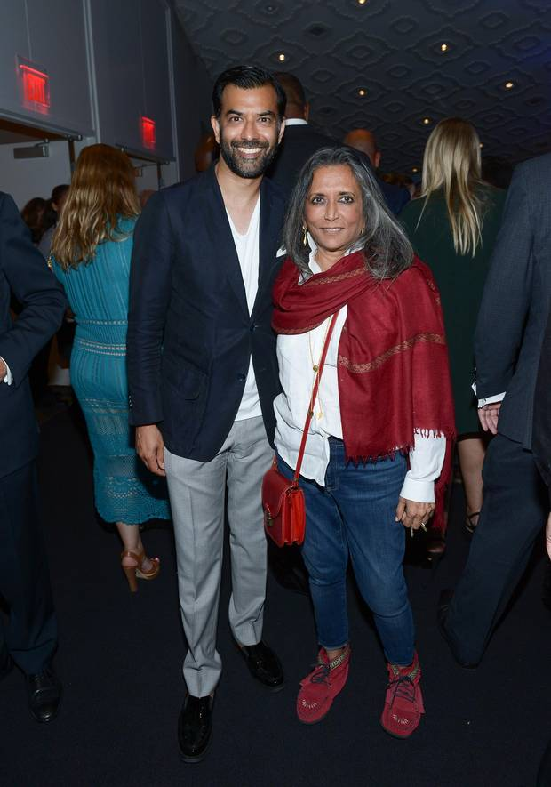 Zaib Shaikh and Deepa Mehta attend the TIFF Soiree after party during the 2016 Toronto International Film Festival at TIFF Bell Lightbox on September 7, 2016 in Toronto, Canada.