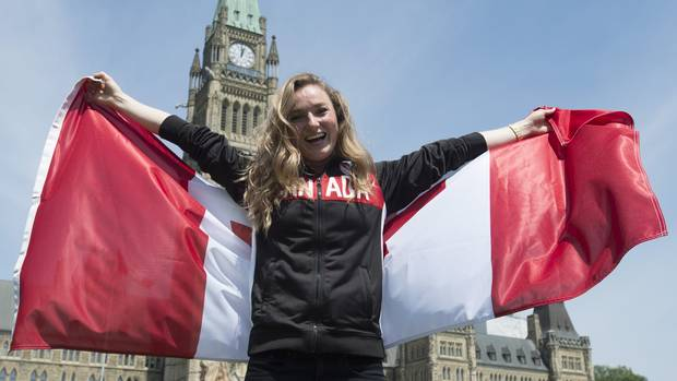 Trampolinist Rosie MacLennan was introduced in Ottawa on July 21, 2016, as the Canadian flag-bearer for the upcoming Olympic Games in Rio de Janeiro. MacLennan won Canada's only gold medal at the London Olympics in 2012.