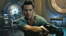 Colin Farrell in Total Recall. YouTube frame grab.