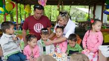 The Gosselin family throws a party to celebrate the sextuplets fifth birthday (Michael Pilla/Getty Images/© 2009 Discovery Communications)