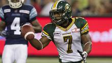 Edmonton Eskimos' Hugh Charles. (The Canadian Press)
