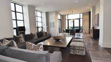 "Home of the Week, 68 Yorkville Ave., suite 1601 - ""his"" side of a pair of 16th floor condos in downtown Toronto. (Chestnut Park Real Estate Ltd./Chestnut Park Real Estate Ltd.)"