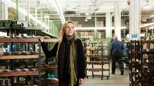 La Canadienne co-owner Penny Shuster in the company's factory in Montreal. (Marc Rimmer)