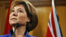 Much of the work announced by Premier Christy Clark was included in plans presented to the B.C. Legislature six weeks ago, (Chad Hipolito for The Globe and Mail/Chad Hipolito for The Globe and Mail)