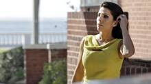 Jill Kelley leaves her home in Tampa, Fla., Nov 12, 2012. (Chris O'Meara/AP)