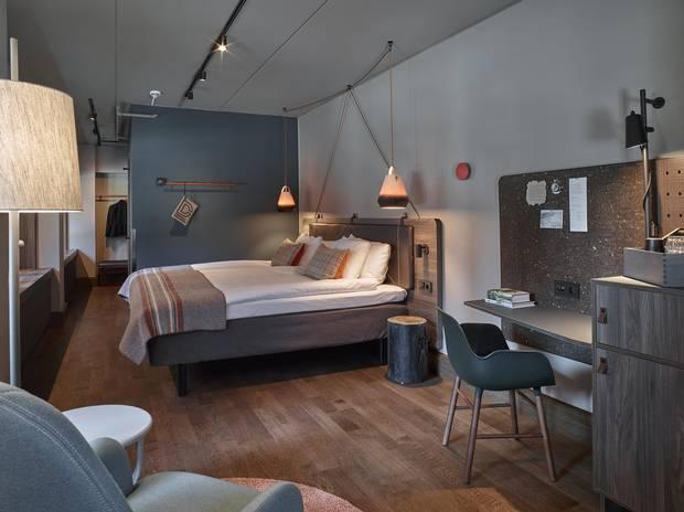 Scandics Downtown Camper hotel, Stockholm. .