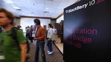 Software developers attend a BlackBerry 10 Jam in Kitchener, Ont., on Aug. 23, 2012. (Deborah Baic/The Globe and Mail)
