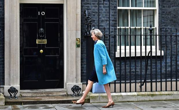 British Home Secretary Theresa May arriving to attend a cabinet meeting at 10 Downing Street in central London last month. Ms. May became the sole contender to become next prime minister on Monday after her sole rival pulled out in a dramatic twist as turmoil sweeps the political scene in the wake of the Brexit vote.