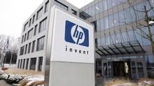 Hewlett-Packard's Belgian headquarters in Diegem, near Brussels. (THIERRY ROGE/REUTERS)