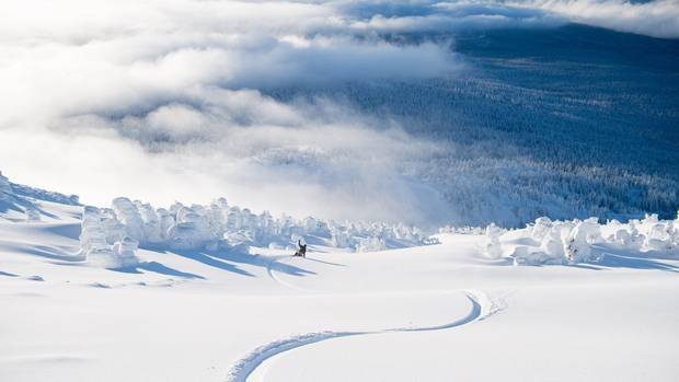 The low-key Mt. Bachelor peak in southwestern Oregon has become the fifth-largest U.S. ski area, with the new Cloudchaser chair adding 257 hectares of mostly advanced trails that were previously accessible only by hiking.