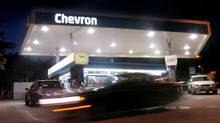 Chevron issues profit warning for fourth quarter. (NOAH BERGER/AP)