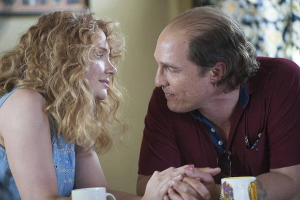Bryce Dallas Howard And Matthew McConaughey In A Scene From Gold