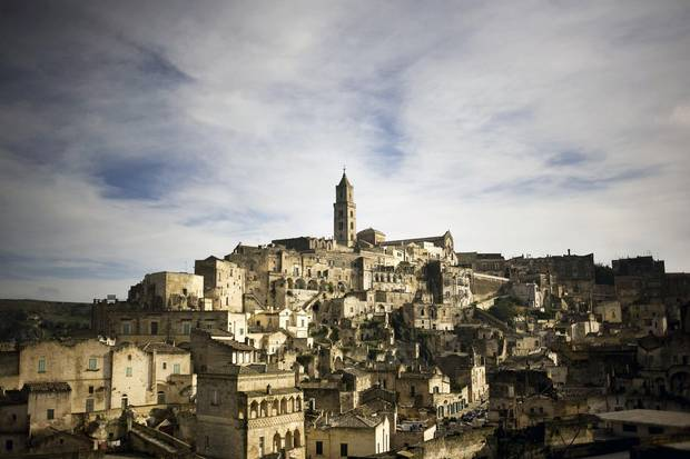 The caves of Matera have been occupied since prehistoric times, making the city one of the oldest communities in the world.