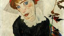 Viennese painter Egon Schiele's Portrait of Wally.