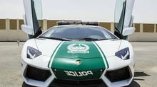 The Lamborghini Aventador will be used by Dubai police. (REUTERS)