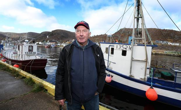Tom Best, of Petty Harbour, Newfoundland on Friday, November 10, 2017. The longtime fisherman now uses