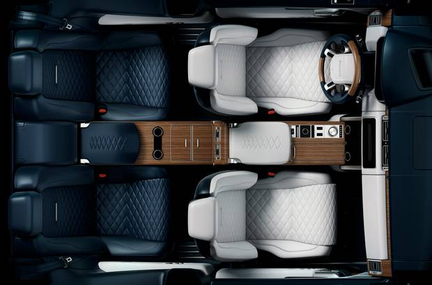 The limited edition Range Rover SV Coupe.