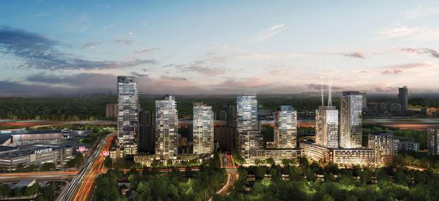 The larger units in the Emerald City development sell in the $700,000 to $800,000 range.