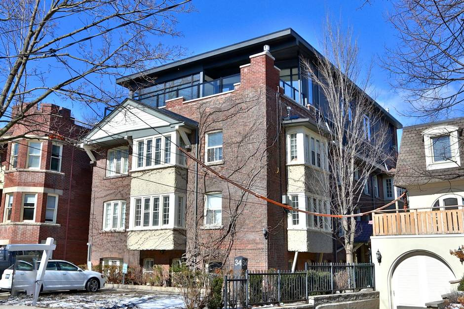 'Not an everyday occurrence': Modern condo sits atop Rosedale apartments