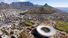 Cape Town from above: Comparisons to Vancouver are not entirely superficial (SCHALK VAN ZUYDAM/AP)